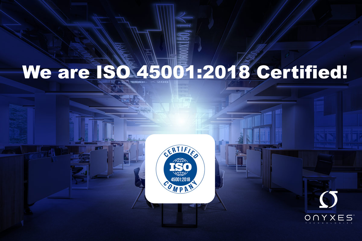 We are ISO 45001:2018
